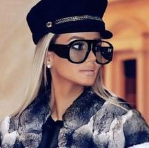Sunglasses Aviator Frame Oversized Women Vintage Sun Shades Lady Goggles 2018 - $11.59+