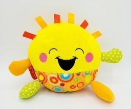 "Fisher Price Giggle Gang Goldie 6"" Interactive Laughing Plush Sunshine C... - $11.87"