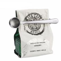 Stainless Steel Coffee Scoop Tablespoon Spoon Tea Bag Clip New Cream Kit... - £7.18 GBP