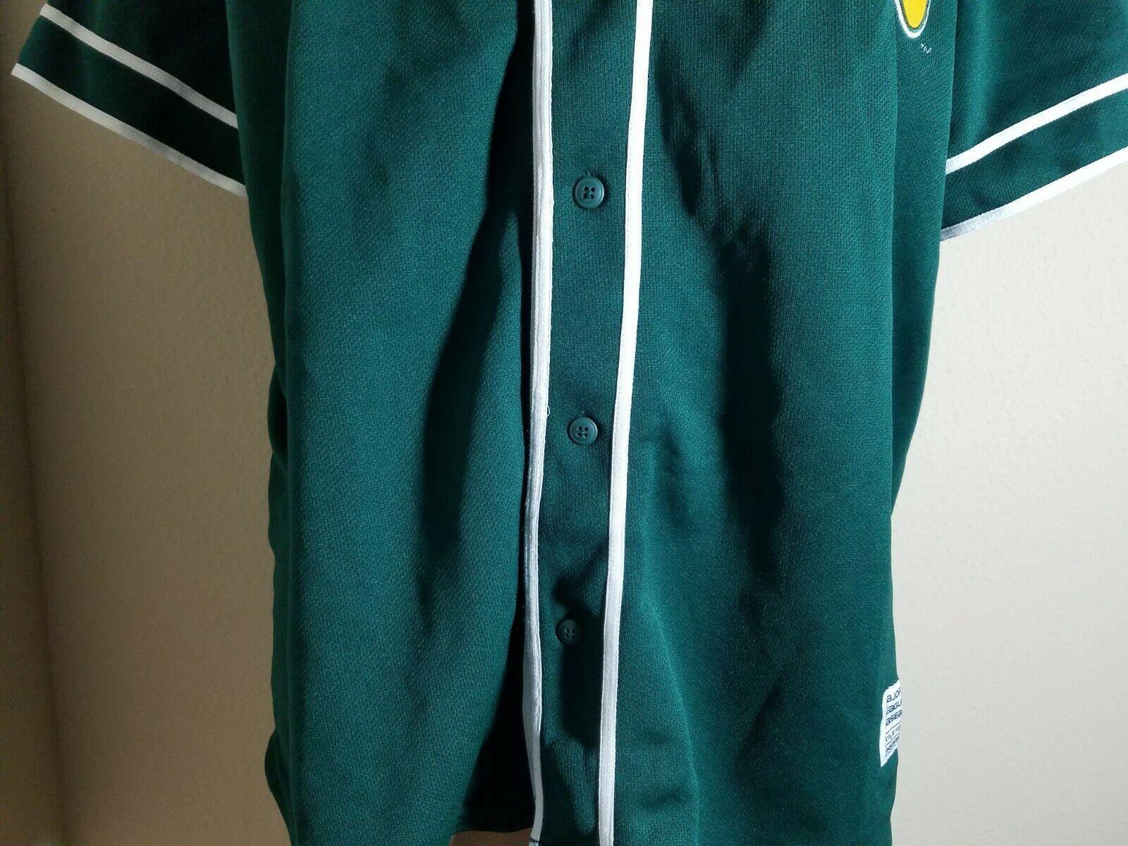 Oakland Athletics A's Jersey MLB Vintage Green Team Baseball Size XL