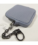 Neiman Marcus Women's Coin Purse/Wallet Attached Chain W/Lobster Hook. Blue - $22.44