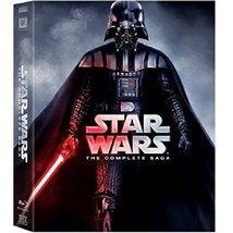 Star Wars: The Complete Saga (Blu-ray, 2011, 9-Disc Set, Boxed Set) New