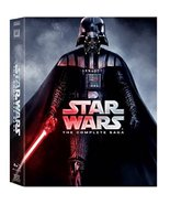 Star Wars: The Complete Saga (Blu-ray, 2011, 9-Disc Set, Boxed Set) New - $39.95