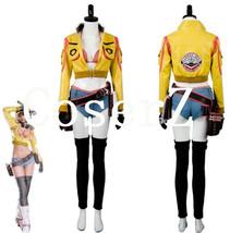 Final Fantasy FF15 Cindy Aurum Gas Jacket Cosplay Cosplay Costume Halloween Cost - $118.00