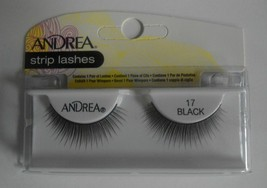 Andrea's Strip Lashes Fashion Eye Lash Style 17 Black (Pack of 4) - $13.97