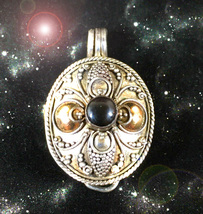 HAUNTED LOCKET THE MASTER WITCH BE GONE DETACH GO AWAY OOAK MAGICK POWER  - $8,977.77