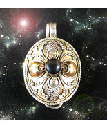 HAUNTED LOCKET THE MASTER WITCH BE GONE DETACH GO AWAY OOAK MAGICK POWER  - $4,488.89