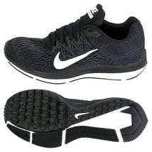 Nike Men's Zoom Winflo 5 Running Shoes Athletic Training Black AA7414-001 - $96.99
