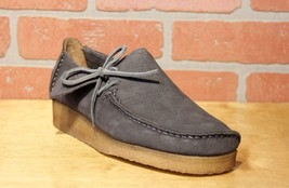 Clarks Originals Lugger Men's Charcoal Gray Nubuck Casual Oxfords 26122158 - $150.00