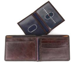 Tommy Hilfiger Men's Premium Leather Credit Card ID Wallet Passcase 31TL220014 image 11