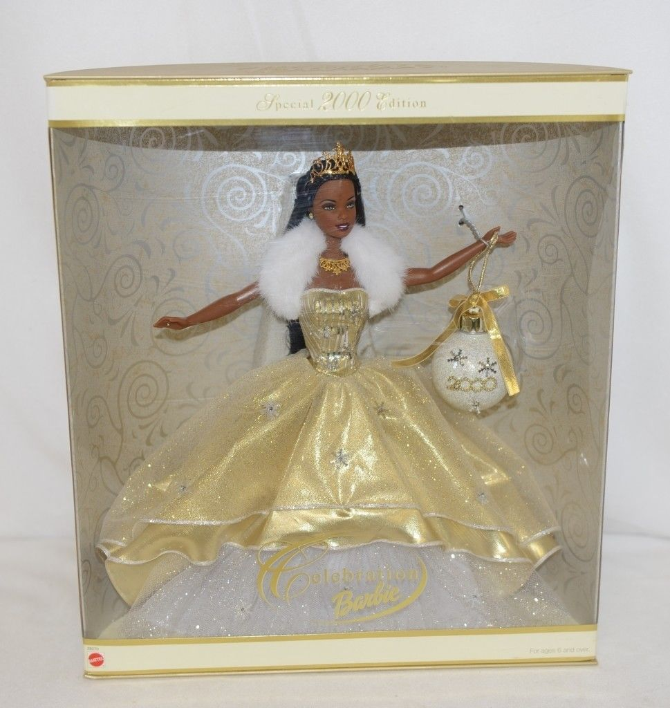 Mattel 28270 African American Celebration Barbie Special 2000 Edition