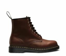 Dr.Martens 1460 Aqua Glide Dark Brown Black Women's Shoes Eight Holes FW19 - $197.56