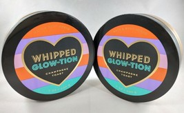 (2) Bath & Body Works Whipped Glow-tion Champagne Toast 24 Hour Body But... - $25.42
