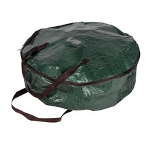 Wreath Storage Container - Christmas Ornament Heavy Duty Plastic Bag For... - $14.99