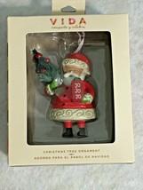 2018 Hallmark VIDA Santa with Tree Jo Jo Jo Ornament New Spanish & English - $13.98