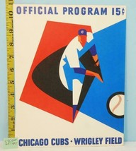 1965 Chicago Cubs Official Program v S.F. Giants Scored #CS6511 - $28.66