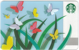 Starbucks 2011 Spring Butterflies Collectible Gift Card New No Value - $4.99