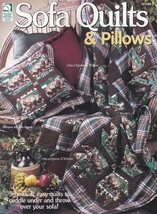 Sofa Quilts & Pillows, House of White Birches Quilting Pattern Booklet 1... - $3.95