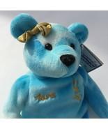 "TARA LIPINSKI  Olympic Gold Ice Skater 8"" Salvinos Bammers Bear 1999 Stu... - $9.50"