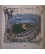 NY Yankees MLB Team BASEBALL STADIUM PILLOW TEAM LOGO BED CHAIR COUCH SOFA - $29.69