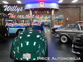 Willys Dealership Performance Built Cars Price Automobilia Collection Me... - $30.00