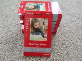 BNIP Canon Photo Paper Glossy 4x6 (50 Sheets), 10 packs (500 sheets) - $24.75