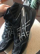 ASICS Spilt Second Black/white Mesh Wrestling Shoes Mens 12 image 5