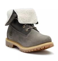 8313A Women's Timberland BootTeddy Fleece Fold-Down Waterproof Grey. Siz... - $139.32