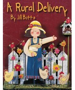 Tole Decorative Painting A Rural Mail Delivery Jill Botts Country Angel ... - $13.99
