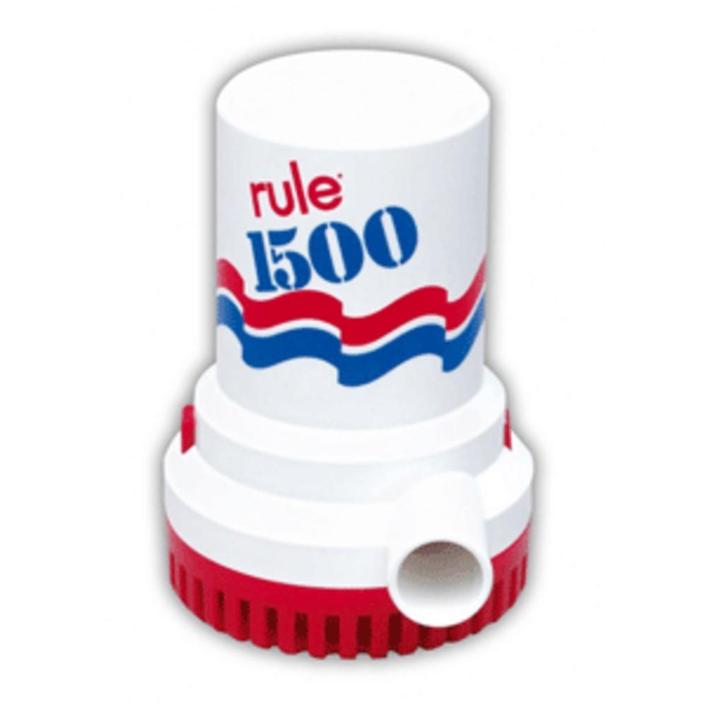 Rule 1500 G.P.H. Bilge Pump