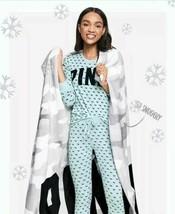 NEW Victoria's Secret PINK Camo Cozy Multi Gray Throw Blanket RARE 50 x 60 NIP - $39.99