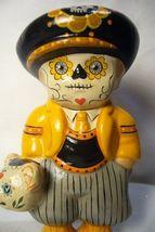 Vaillancourt Folk Art Day of the Dead Boy Personally signed by Judi! image 4