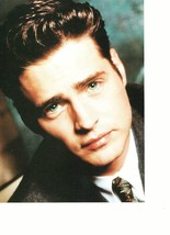Jason Priestley teen magazine pinup clipping close up vintage 90's blue eyes