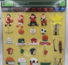 Holiday Child Sports Miniature Christmas Tree Ornament Tree Skirt Theme ... - $14.84