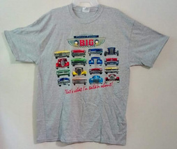 Hanes Heavyweight T-shirt Classic Chrome Big Front Ends, X-Large Size - $9.99
