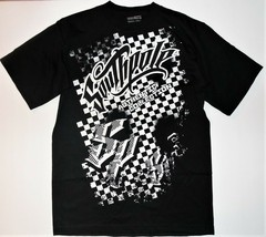 Southpole Boys Black and White T-Shirt Size Medium 12-14 NWT - $19.39