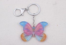 Bonsny butterfly for girls lovely new 2014 acrylic key chains fashion cu... - $16.00