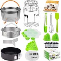 21 Pcs Accessories for Instant Pot 6 qt 8qt, Foodi 8qt - 60 Pcs Parchment - $54.40