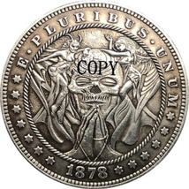 Hobo Nickel 1878-CC USA Morgan Dollar COIN COPY Type 155 - $8.99