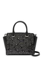 Michael Kors Selma top zip Satchel medium stud firework handbag purse BL... - $149.00