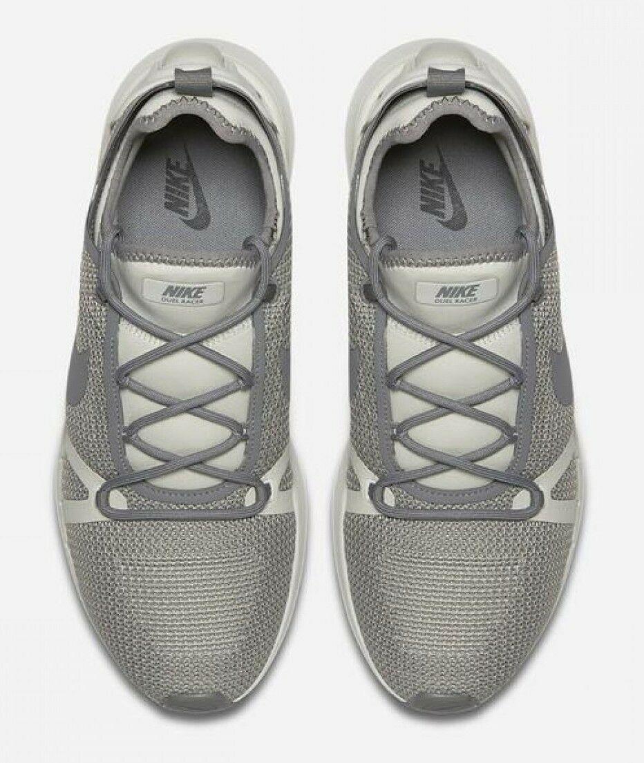 Nike Duel Racer Men's Shoe Lifestyle Sneakers 918228-004, Pale Grey/Dust/Bone 14