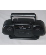 Suntone Portable Mini Boom Box Model RR2500 AM/FM Radio Black Tested - $18.69