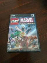 LEGO Marvel Super Heroes (PC DVD-Rom, 2013) 100+ Characters Rated E 10+ NIP - $21.37