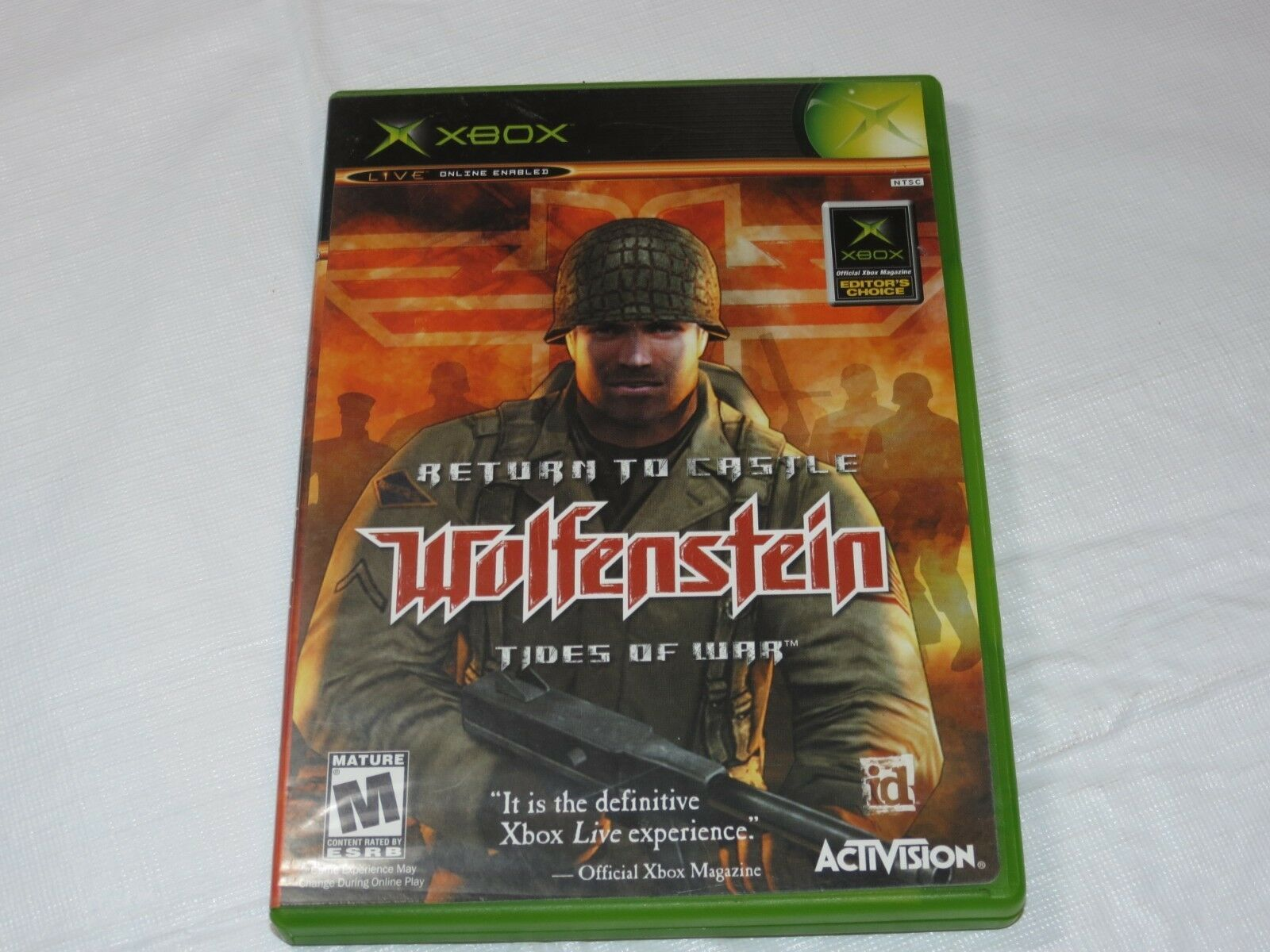 Primary image for Return To Castle Wolfenstein: Maree di Guerra Microsoft Xbox 2003 Spara M-MATURE