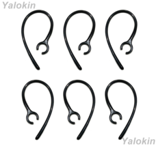 6pcs (SK-CHP) Black Replacement Ear Loops Ear-Clips for Jabra Headset - $13.19