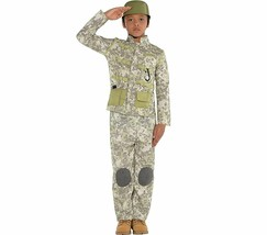 AMSCAN Combat Soldier Halloween Costume for Boys, Small, with Included... - $28.47