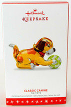 Hallmark: Classic Canine - Series 3rd - Tin Toys - 2016 Keepsake Ornament - $17.41
