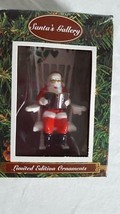 NEW SANTA'S GALLERY LIMITED EDITION CHRISTMAS TREE ORNAMENT, CLAUS ROCKI... - $8.90