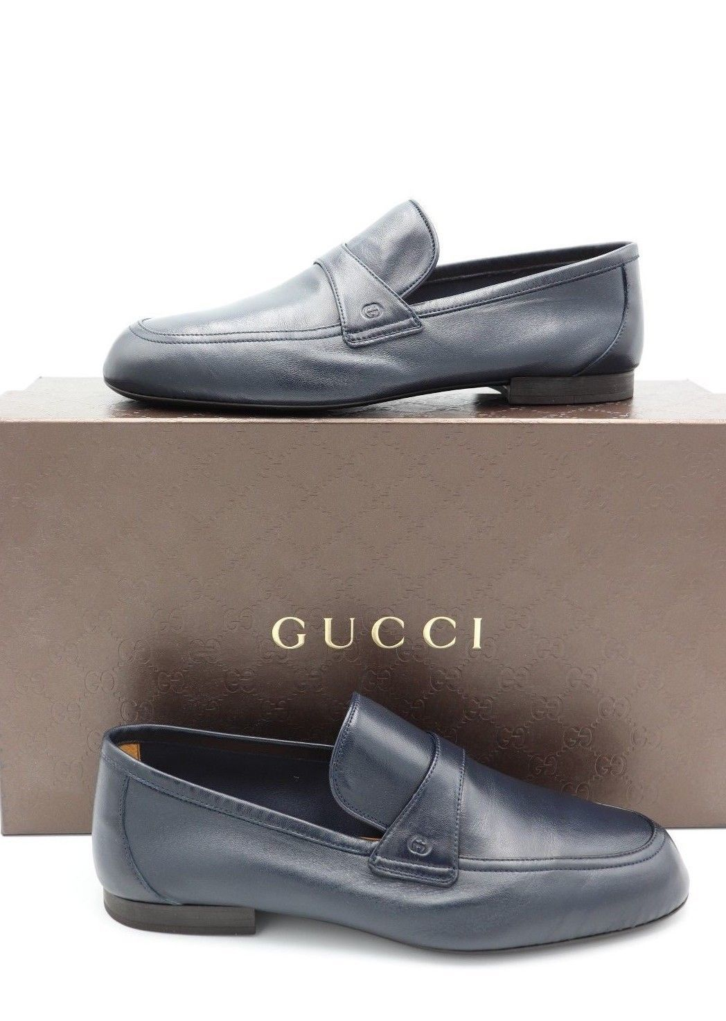 27d5855485f NIB Gucci Mens Unlined Navy Blue Leather and 50 similar items. S l1600