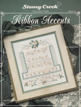 Ribbon Accents, Stoney Creek Sampler Counted Cross Stitch Pattern Book 1... - $7.95